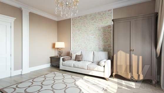 Дизайн гостевой комнаты в доме 500 кв.м., Поведники - 3