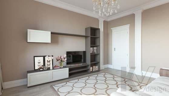 Дизайн гостевой комнаты в доме 500 кв.м., Поведники - 4