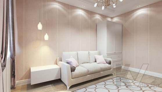 Дизайн гостевой комнаты в доме 500 кв.м., Поведники - 5
