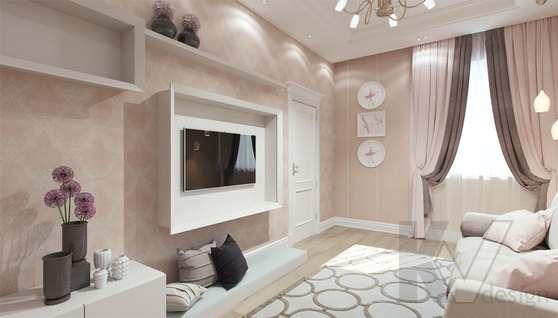Дизайн гостевой комнаты в доме 500 кв.м., Поведники - 7