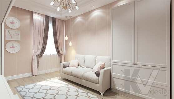 Дизайн гостевой комнаты в доме 500 кв.м., Поведники - 8