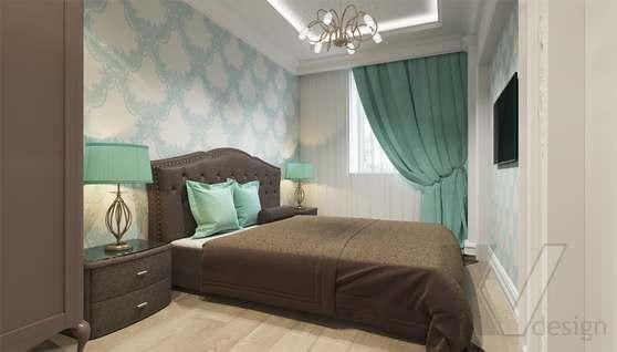 Дизайн гостевой спальни в доме 500 кв.м., Поведники - 1