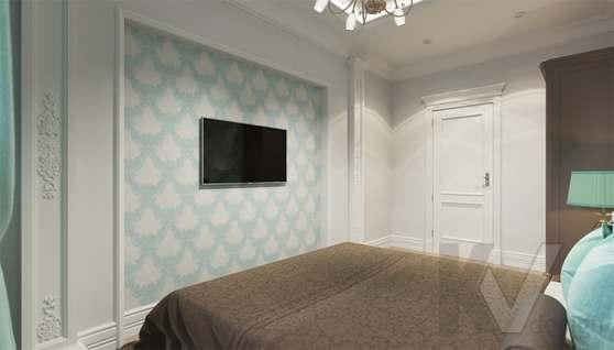 Дизайн гостевой спальни в доме 500 кв.м., Поведники - 2