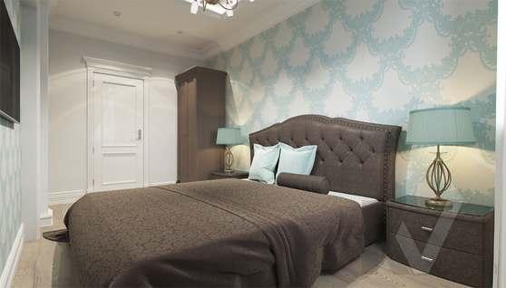 Дизайн гостевой спальни в доме 500 кв.м., Поведники - 3