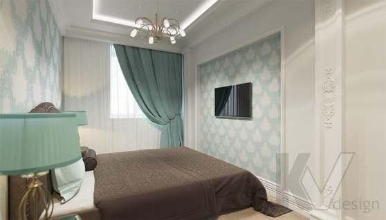 Дизайн гостевой спальни в доме 500 кв.м., Поведники - 4