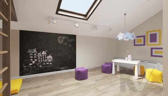 Дизайн игровой комнаты в доме 500 кв.м., Поведники - 1