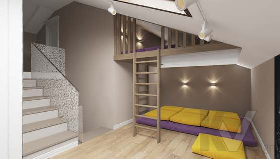 Дизайн игровой комнаты в доме 500 кв.м., Поведники - 2