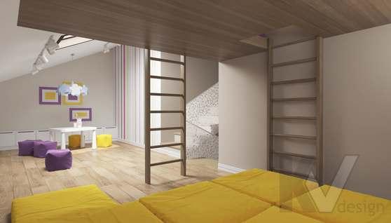 Дизайн игровой комнаты в доме 500 кв.м., Поведники - 3