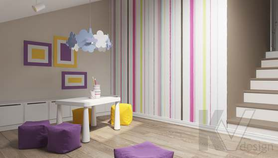Дизайн игровой комнаты в доме 500 кв.м., Поведники - 5