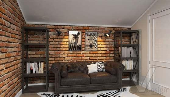 Дизайн кабинета в доме 500 кв.м., Поведники - 2