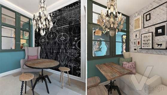 Дизайн кафе в Одинцово, ЖК Да-Винчи - 11