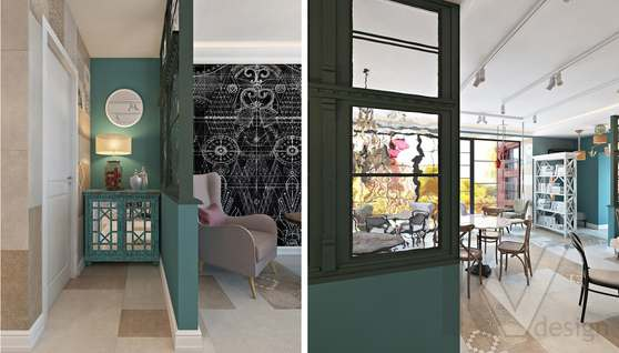 Дизайн кафе в Одинцово, ЖК Да-Винчи - 12