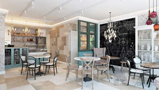 Дизайн кафе в Одинцово, ЖК Да-Винчи - 3