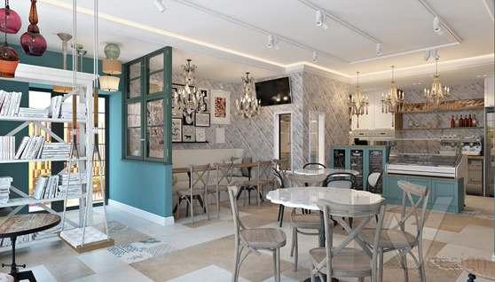 Дизайн кафе в Одинцово, ЖК Да-Винчи - 4