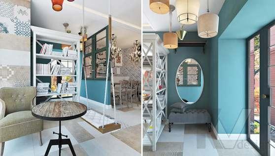 Дизайн кафе в Одинцово, ЖК Да-Винчи - 9