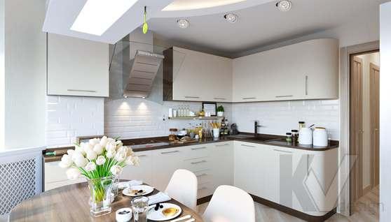Дизайн кухни в 2-комнатной квартире, Некрасовка Парк - 3