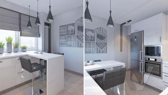 дизайн кухни в 3-комн. квартире, Москворечье - 2