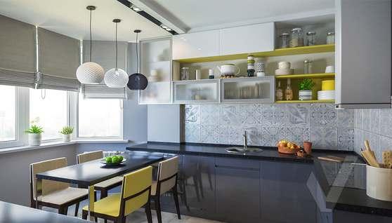 Дизайн кухни в двухкомнатной квартире, Сходненская - 4