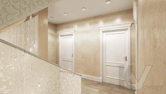Дизайн прихожей и лестницы в доме 500 кв.м., Поведники - 6