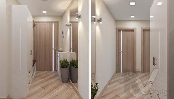 Дизайн прихожей в 2-комнатной квартире, Некрасовка Парк - 1