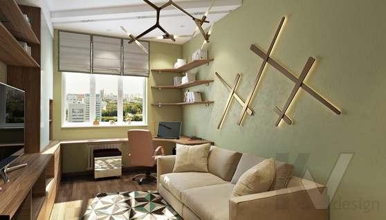 Дизайн прихожей в двухкомнатной квартире, ЖК Розмарин - 2