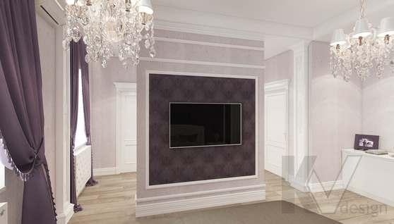 Дизайн спальни в доме 500 кв.м., Поведники - 1
