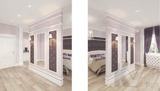Дизайн спальни в доме 500 кв.м., Поведники - 11