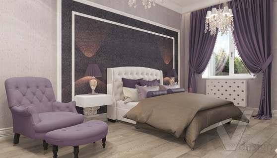 Дизайн спальни в доме 500 кв.м., Поведники - 3