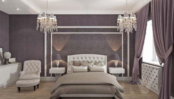Дизайн спальни в доме 500 кв.м., Поведники - 5
