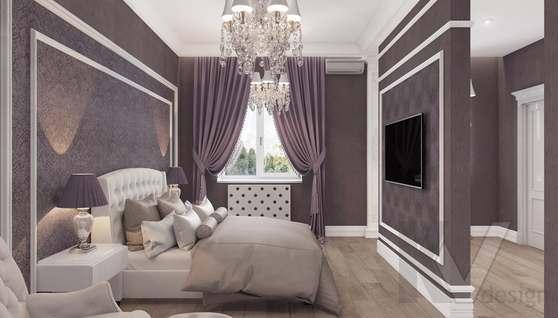 Дизайн спальни в доме 500 кв.м., Поведники - 6
