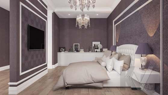 Дизайн спальни в доме 500 кв.м., Поведники - 7