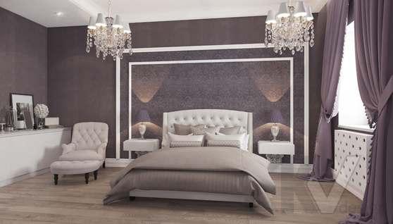 Дизайн спальни в доме 500 кв.м., Поведники - 8