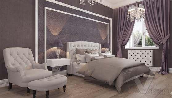 Дизайн спальни в доме 500 кв.м., Поведники - 9