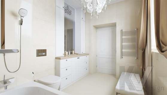 Дизайн ванной комнаты в доме 500 кв.м., Поведники - 2