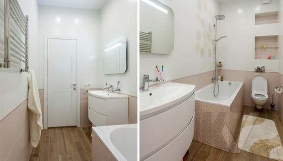 Фото детской ванной комнаты в таунхаусе Павлово