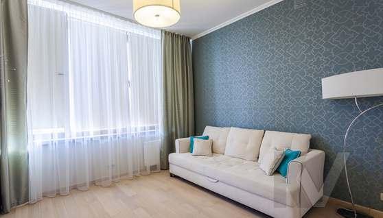 Фото гостевой комнаты в таунхаусе Павлово - 2