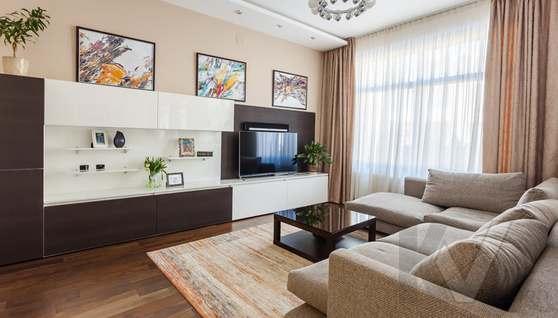 Фото гостиной в таунхаусе Павлово - 2