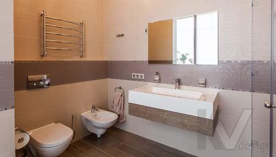 Фото хозяйской ванной комнаты в таунхаусе Павлово - 4