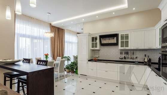 Фото кухни в таунхаусе Павлово - 2