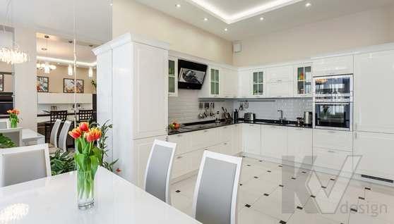Фото кухни в таунхаусе Павлово - 3