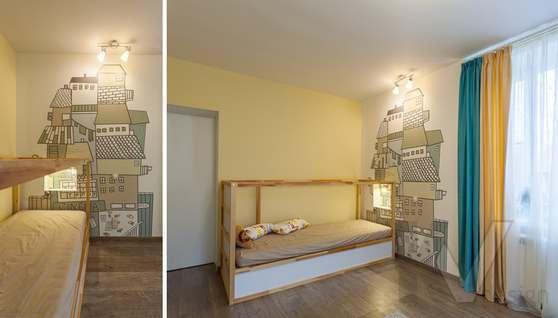Фотография детской комнаты после ремонта, проспект Вернадского - 3