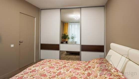 Фотография спальни после ремонта, проспект Вернадского