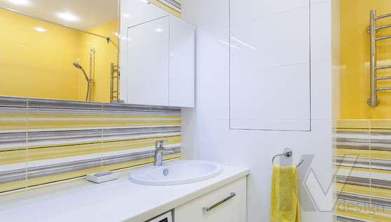 Фотография ванной комнаты после ремонта, проспект Вернадского - 2
