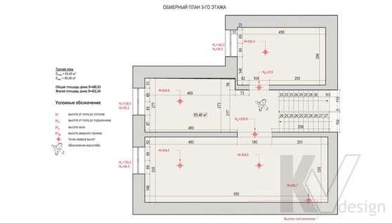 Планировка четвертого этажа дома в доме 500 кв.м., Поведники
