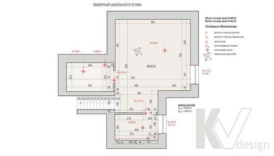 Планировка первого этажа дома в доме 500 кв.м., Поведники