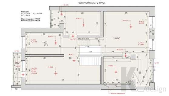 Планировка третьего этажа дома в доме 500 кв.м., Поведники