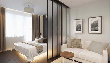 Дизайн квартиры в 69 кв.м. в доме серии П-44Т в городе Московский