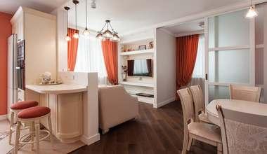 Дизайн проект двухкомнатной квартиры 63 кв.м. в городе Королёв