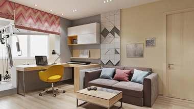 Дизайн трехкомнатной квартиры в Некрасовке