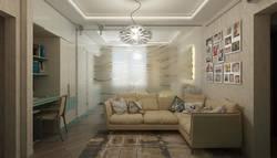 Декорирование интерьера маленькой гостиной